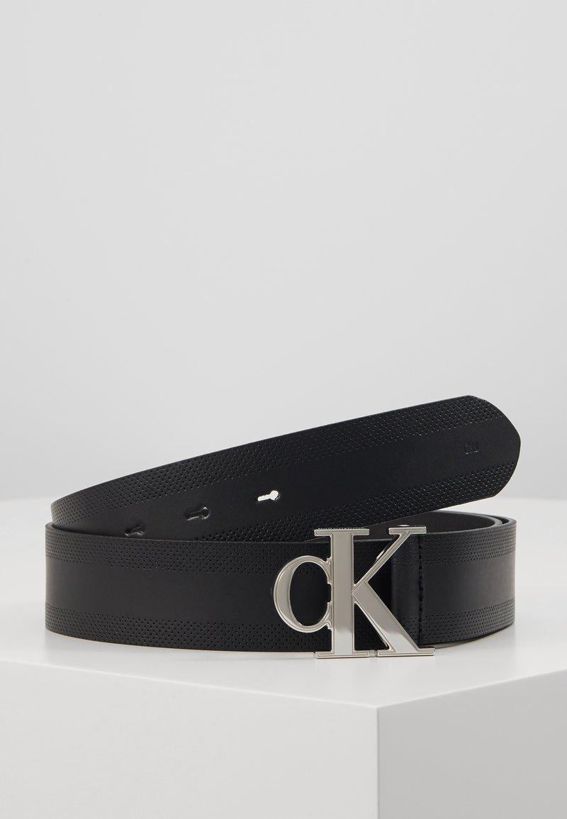 Calvin Klein Jeans - GYM CLASS MONOGRAM 35MM - Cintura - black