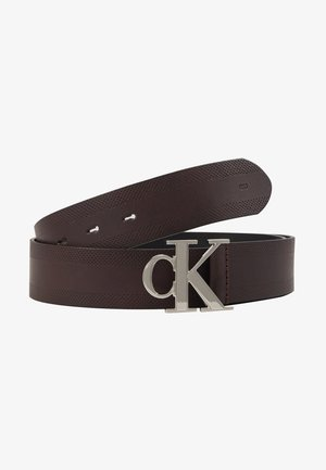 GYM CLASS MONOGRAM 35MM - Pasek - brown