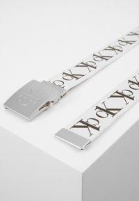Calvin Klein Jeans - BELT TAPE - Riem - white - 4