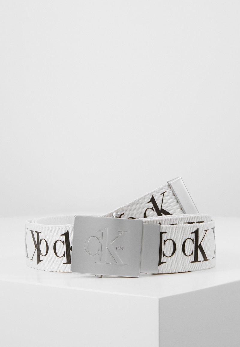 Calvin Klein Jeans - BELT TAPE - Riem - white