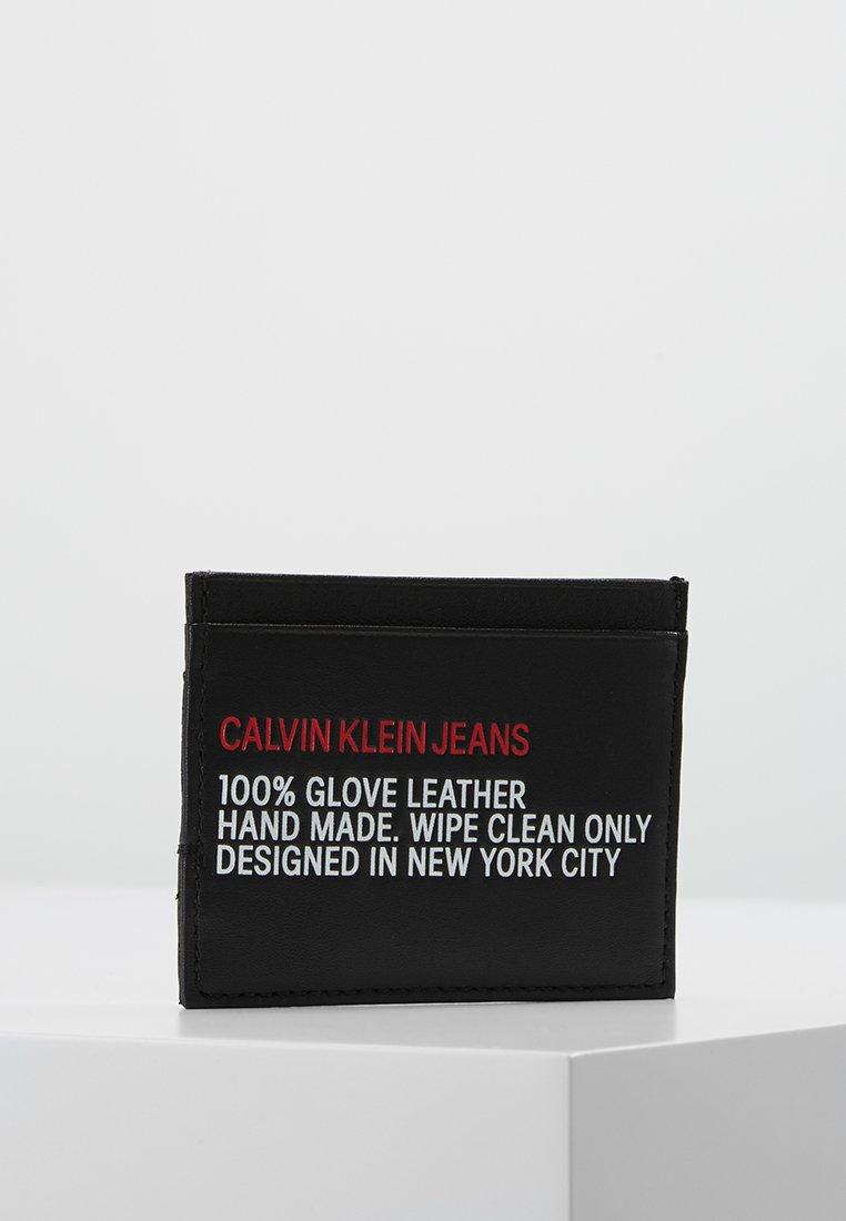 Calvin Klein Jeans - UTILITY CARDHOLDER - Portefeuille - black