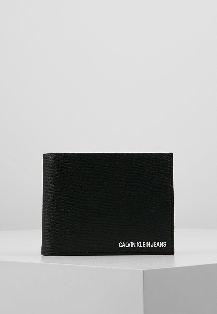 Calvin Klein Jeans - COATED LOGO BILLFOLD COIN - Portfel - black