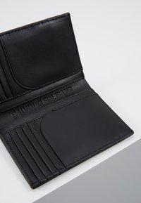 Calvin Klein Jeans - MIRROR MONOGRAM BILLFOLD - Lompakko - black - 8
