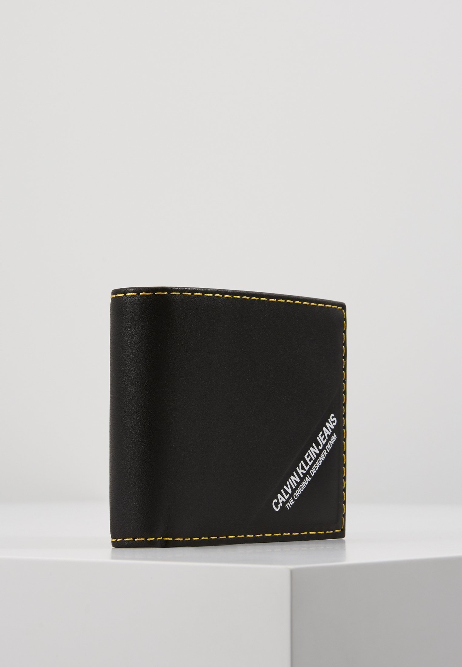 Calvin Klein Jeans Smooth Stitch Billfold - Plånbok Black
