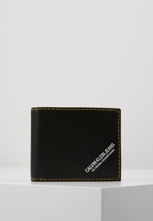 SMOOTH STITCH BILLFOLD - Peněženka - black