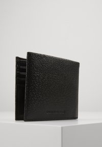 Calvin Klein Jeans - MONOGRAM TEXTURE BIFOLD - Portemonnee - black - 4