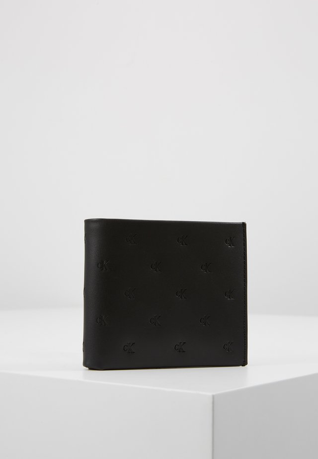 MONOGRAM EMBOSS BIFOLD - Portfel - black