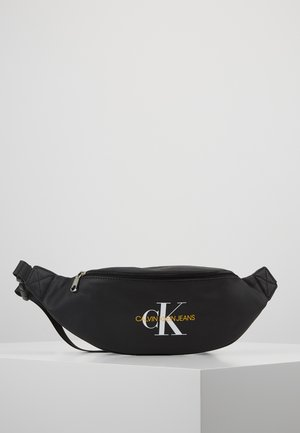 COATED ROUND STREET PACK - Bum bag - black