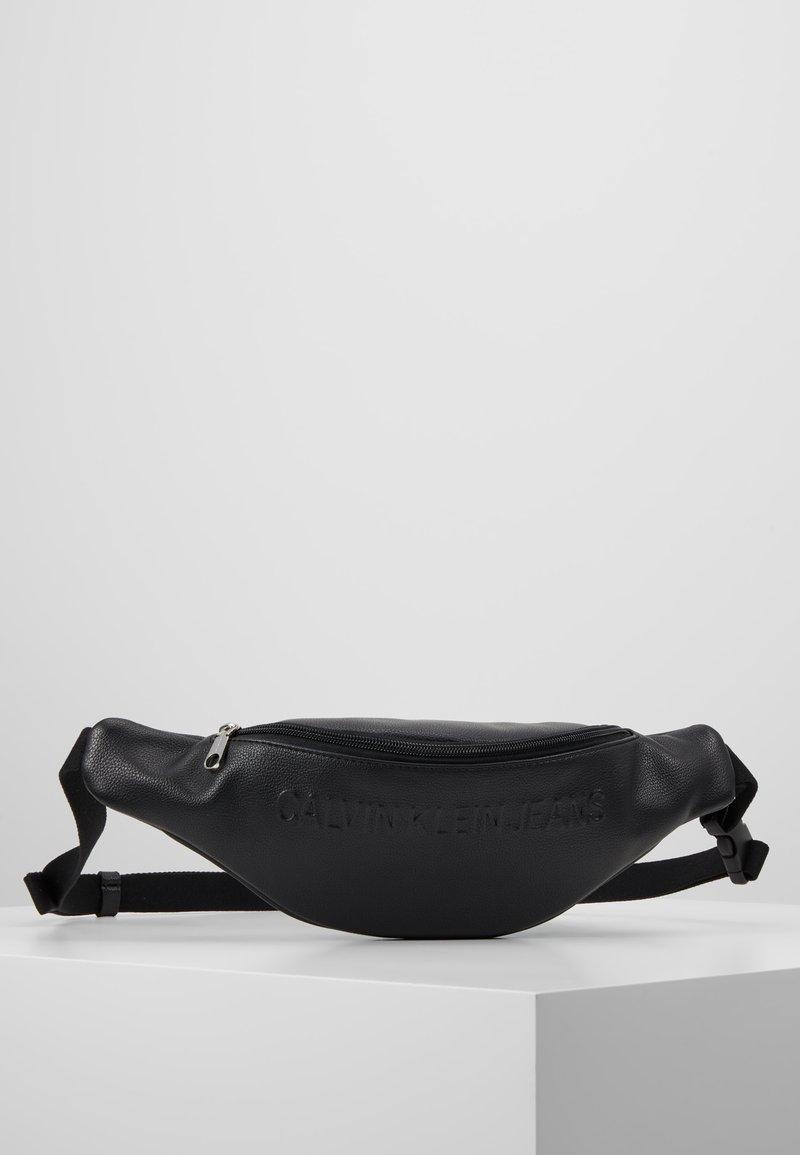 Calvin Klein Jeans - MICRO PEBBLE  - Bum bag - black