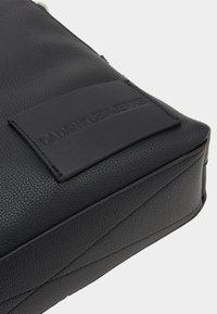 Calvin Klein Jeans - MICRO PEBBLE FLAT PACK - Across body bag - black - 3