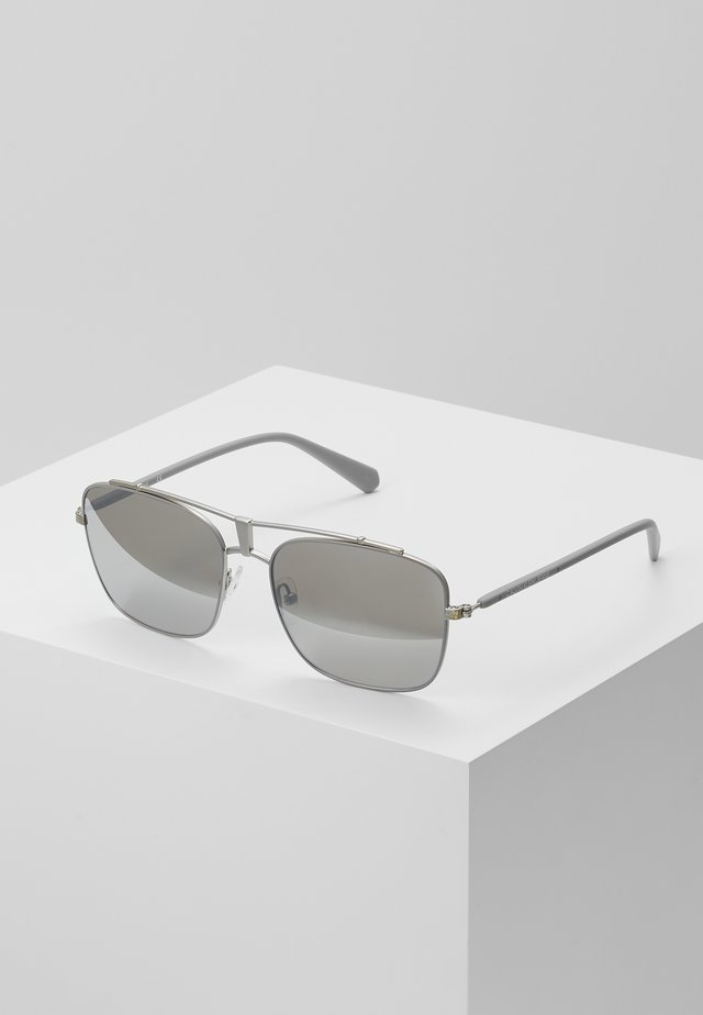 Sunglasses - matte light gray