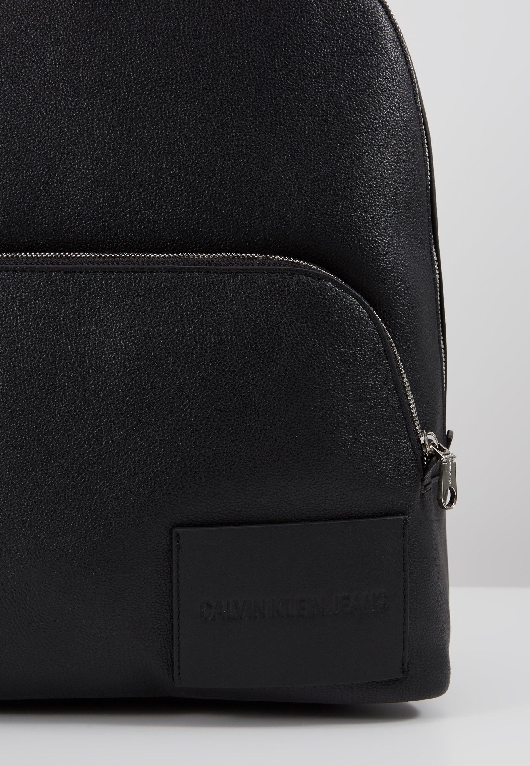Calvin Klein Jeans Micro Pebble Campus - Sac À Dos Black