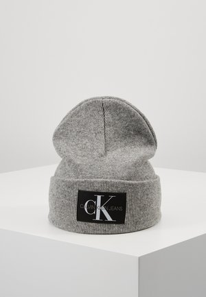 BASIC MEN BEANIE - Muts - grey
