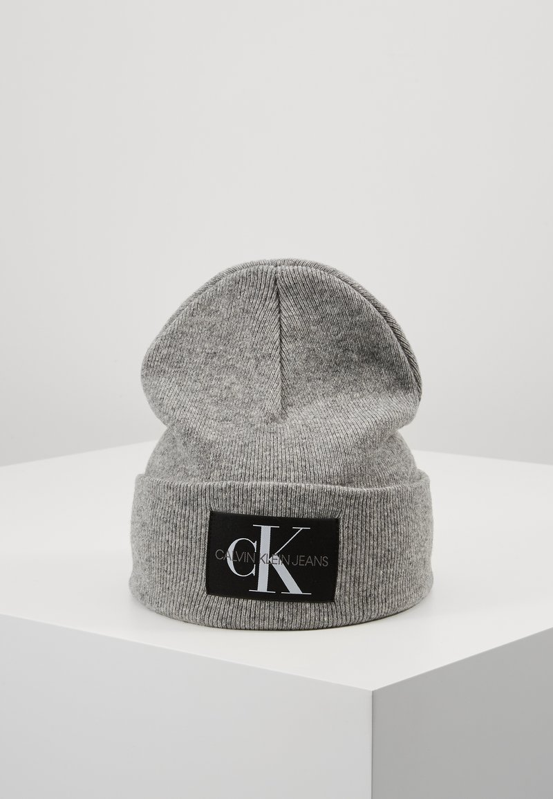Calvin Klein Jeans - BASIC MEN BEANIE - Pipo - grey