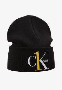 Calvin Klein Jeans - BEANIE - Muts - black - 3