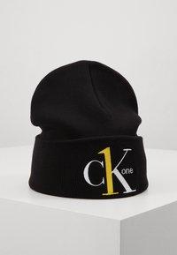 Calvin Klein Jeans - BEANIE - Muts - black - 0