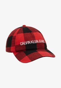 Calvin Klein Jeans - CHECK - Cap - black - 4