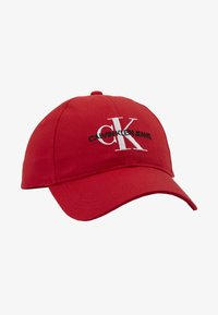 Calvin Klein Jeans - MONOGRAM - Pet - red - 4