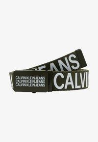 Calvin Klein Jeans - BOYS BASIC BELT - Belt - green - 1