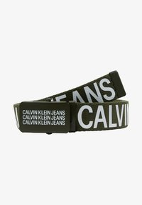 Calvin Klein Jeans - BOYS BASIC BELT - Ceinture - green - 1