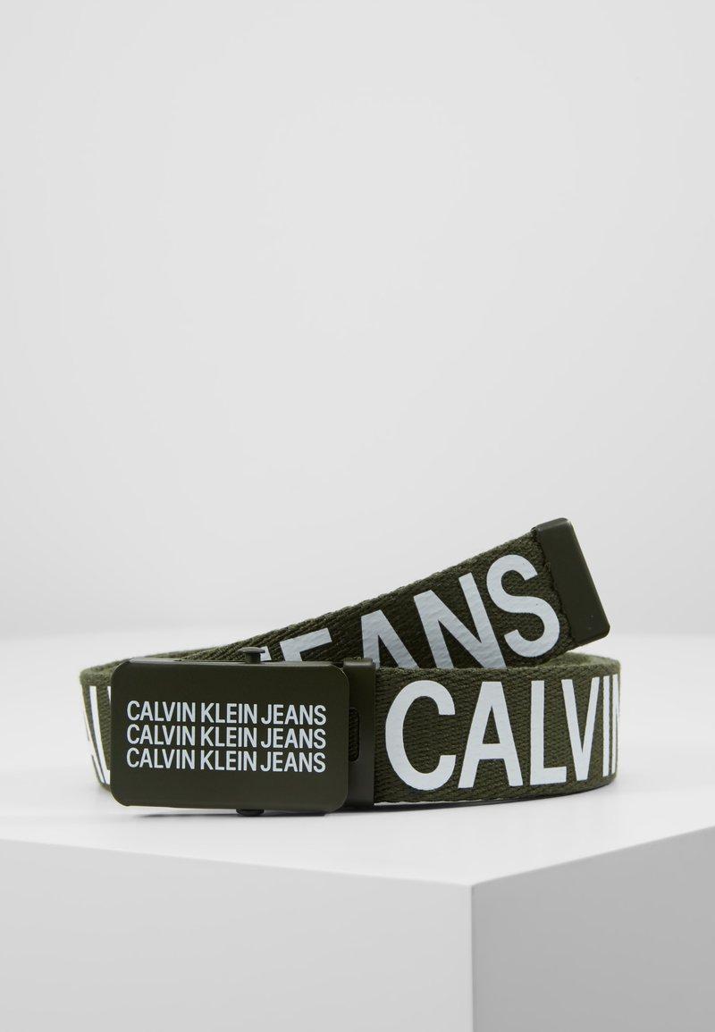 Calvin Klein Jeans - BOYS BASIC BELT - Belt - green