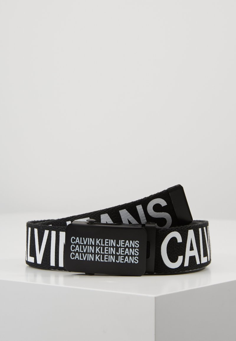 Calvin Klein Jeans - BOYS BASIC BELT - Pasek - black