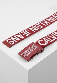 Calvin Klein Jeans - BASIC BELT - Gürtel - red - 3