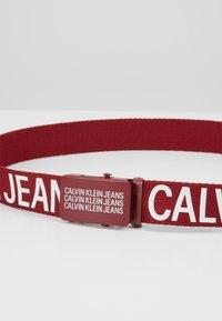 Calvin Klein Jeans - BASIC BELT - Gürtel - red - 2