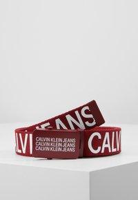 Calvin Klein Jeans - BASIC BELT - Gürtel - red - 0