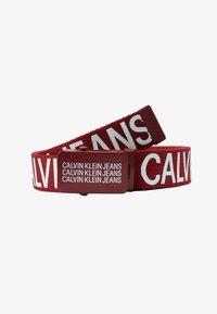 Calvin Klein Jeans - BASIC BELT - Gürtel - red - 1