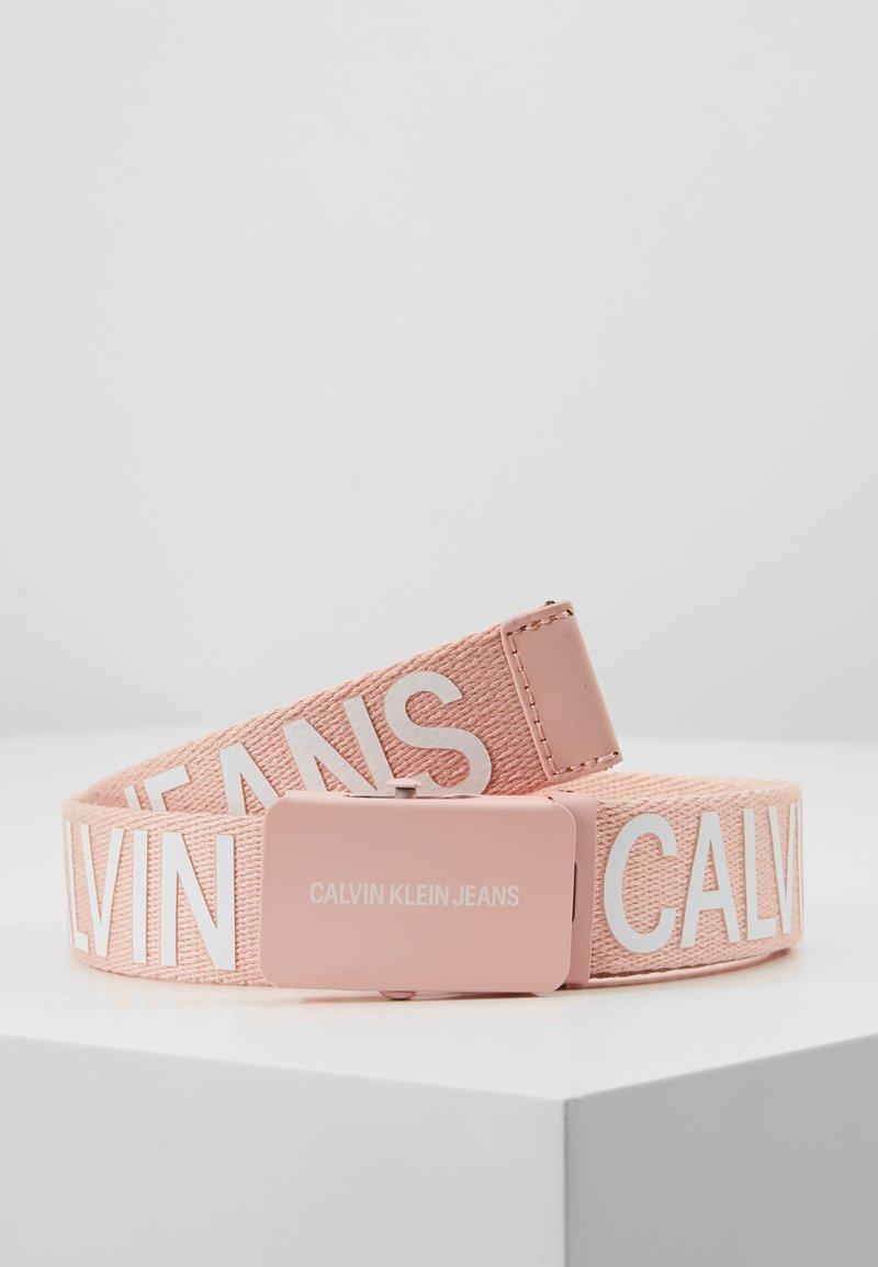 Calvin Klein Jeans - BELT - Vyö - pink