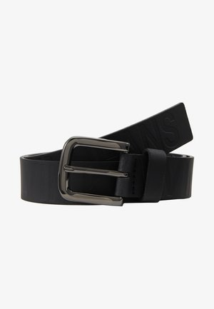 LOGO EMBOSSED BELT - Skärp - black