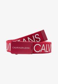 Calvin Klein Jeans - LOGO BELT - Pásek - pink - 1