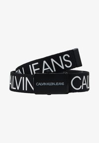Calvin Klein Jeans - LOGO BELT - Cintura - black - 1