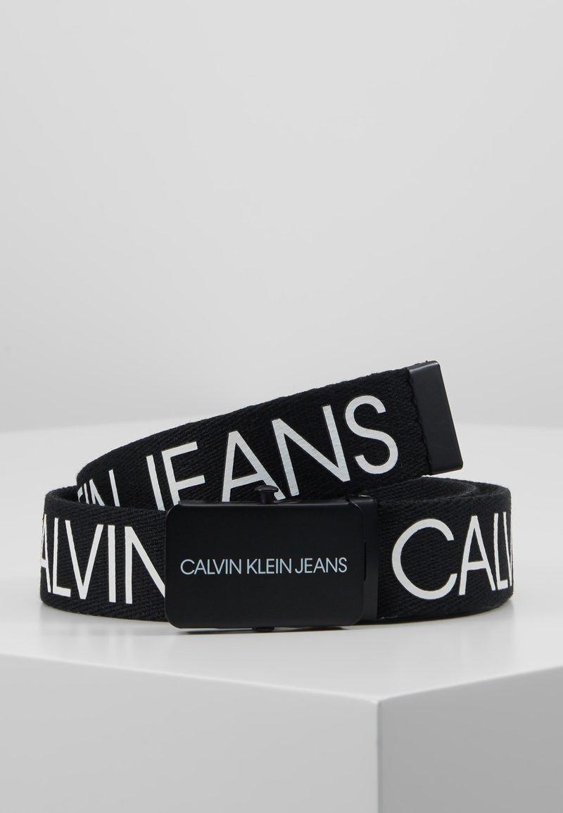 Calvin Klein Jeans - LOGO BELT - Pásek - black