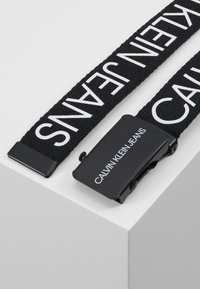 Calvin Klein Jeans - LOGO BELT - Cintura - black - 3