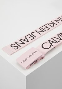 Calvin Klein Jeans - LOGO BELT - Pasek - pink - 3