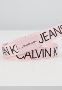 Calvin Klein Jeans - LOGO BELT - Pasek - pink - 2