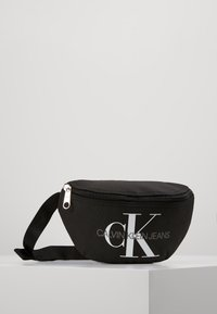 Calvin Klein Jeans - MONOGRAM WAIST PACK - Ledvinka - black - 0