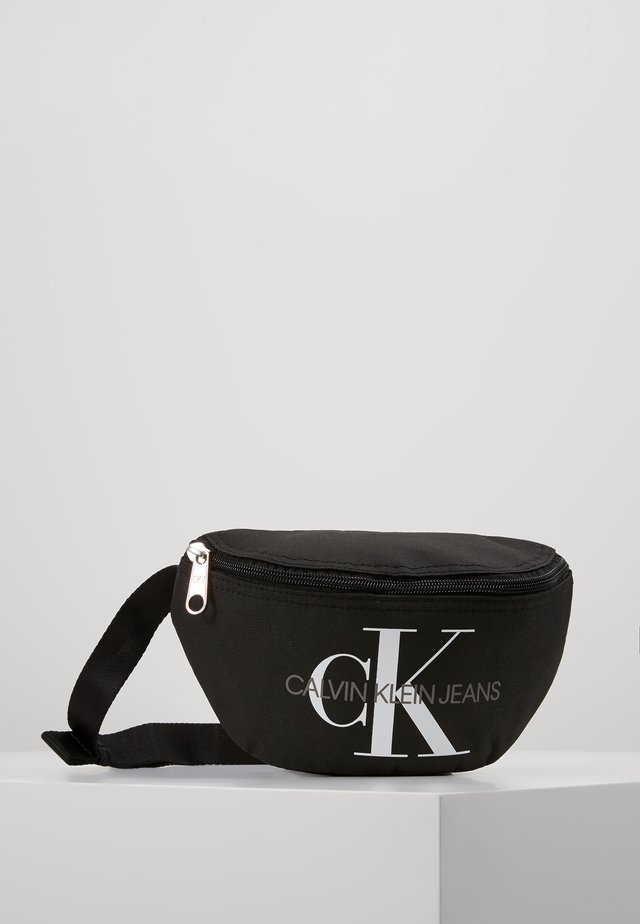 MONOGRAM WAIST PACK - Ledvinka - black