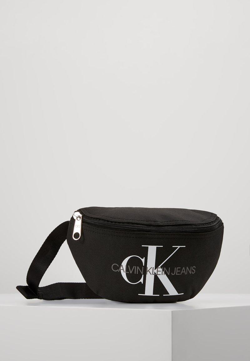 Calvin Klein Jeans - MONOGRAM WAIST PACK - Ledvinka - black