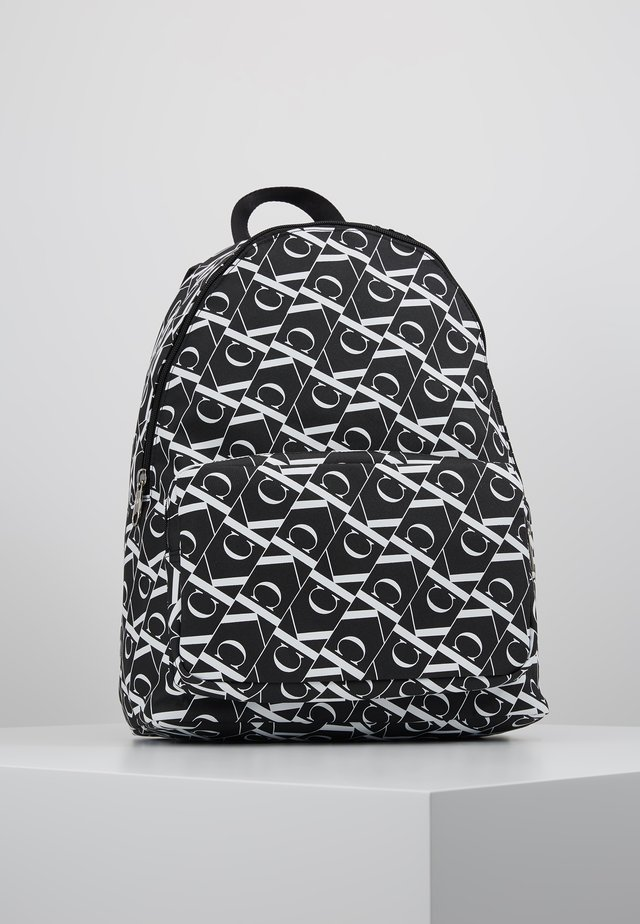 MIRRORED CAMPUS BACKPACK  - Ryggsekk - black