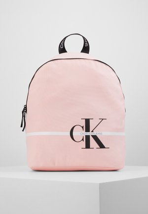 MONOGRAM STRIPE BACKPACK - Rucksack - pink