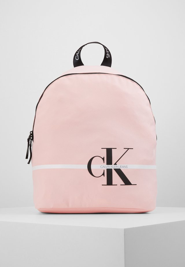MONOGRAM STRIPE BACKPACK - Ryggsekk - pink