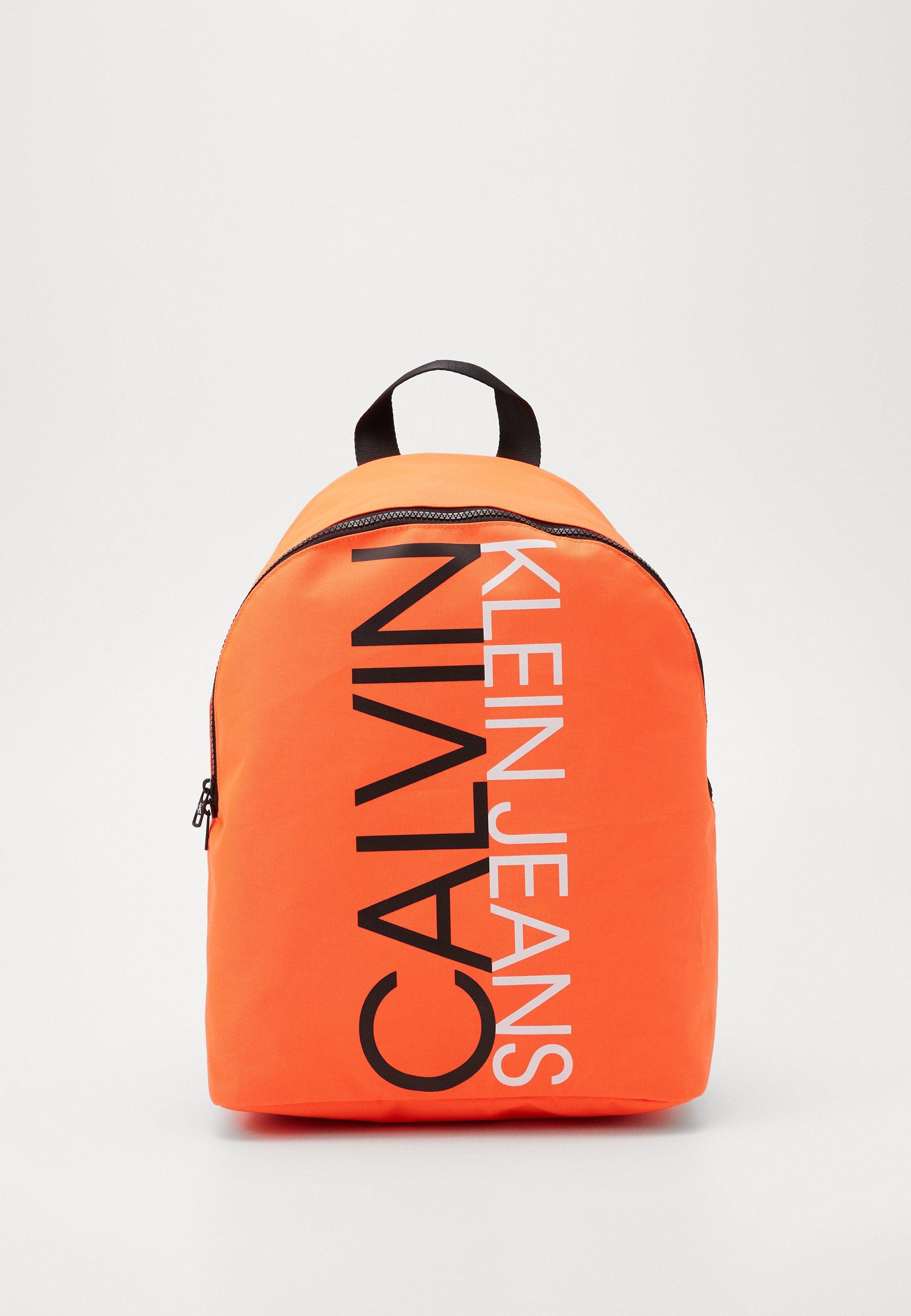INSTITUTIONAL LOGO BACKPACK Plecak neon orange