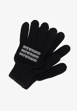 BOYS BASIC GLOVES - Fingerhandschuh - black