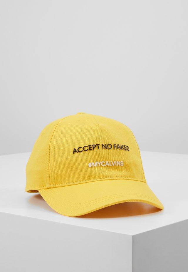 SLOGAN BASEBALL - Cappellino - yellow