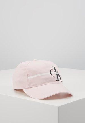 MONOGRAM STRIPE CAP - Caps - pink