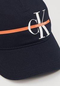 Calvin Klein Jeans - MONOGRAM STRIPE CAP - Lippalakki - blue - 2
