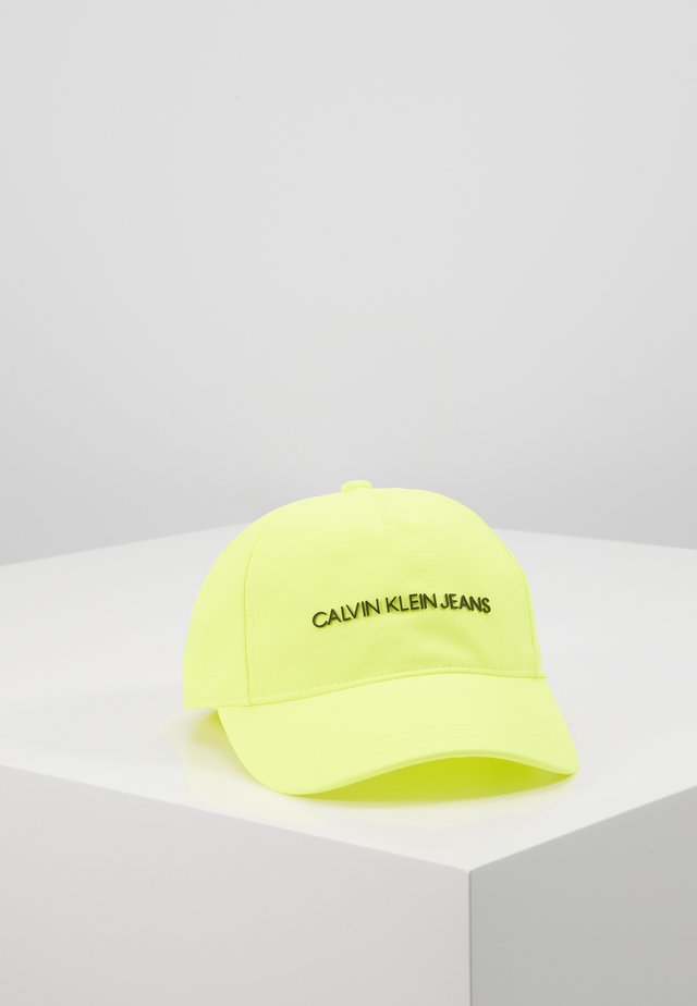 INSTITUTIONAL LOGO - Casquette - yellow